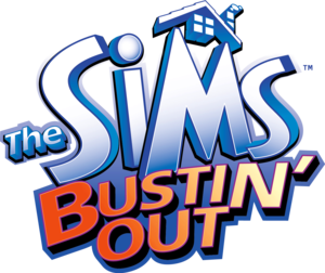 The Sims Bustin Out logo