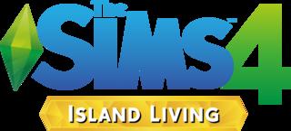 The Sims 4: Island Living logo