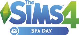 The Sims 4: Spa Day logo
