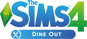The Sims 4: Dine Out logo