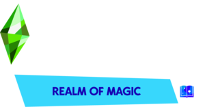 The Sims 4: Realm of Magic logo