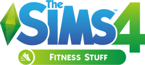 The Sims 4: Fitness Stuff logo