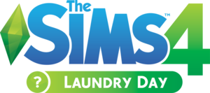 The Sims 4: Laundry Day Stuff pack logo