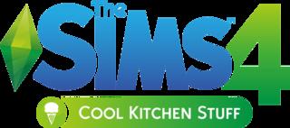 The Sims 4: Cool Kitchen Stuff logo