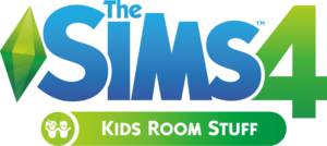 The Sims 4: Kids Room Stuff logo
