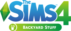 The Sims 4: Backyard Stuff logo