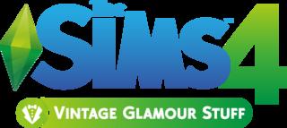 The Sims 4: Vintage Glamour Stuff logo