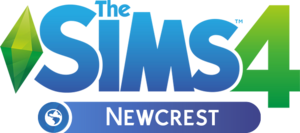 The Sims 4 Newcrest logo