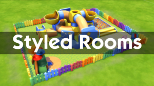 The Sims 4: Toddler Stuff - Styled Rooms