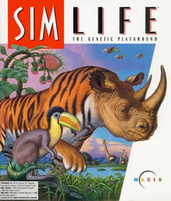 SimLife Sim Life packshot box art