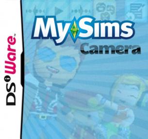 MySims Camera custom made box art packshot
