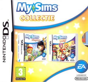 MySims Collectie DS box art packshot