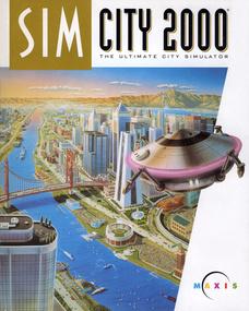 SimCity 2000 box art packshot