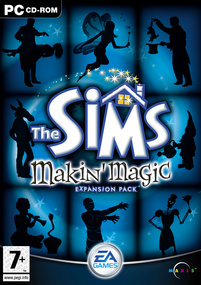 The Sims: Makin' Magic box art packshot