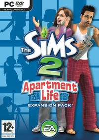 The Sims 2: Apartment Life box art packshot