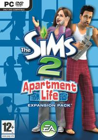 The Sims 2: Apartment Life box art packshot