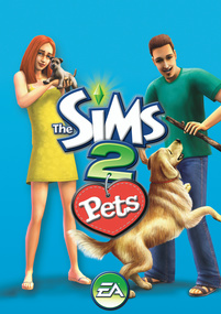 The Sims 2 Pets for mobile phones box art packshot
