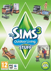 The Sims 3: Outdoor Living Stuff box art packshot