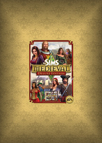 The Sims Medieval Deluxe Pack box art packshot