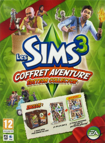 Les Sims 3: Coffret Aventure (Edition Collector) packshot box art