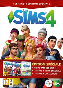 Les Sims 4 Pack Collector Noël 2016 packshot box art