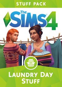 The Sims 4: Laundry Day Stuff pack box art packshot