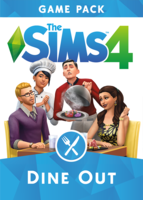 The Sims 4: Dine Out box art packshot