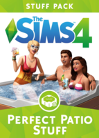 The Sims 4: Perfect Patio Stuff box art packshot