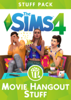 The Sims 4: Movie Hangout Stuff box art packshot