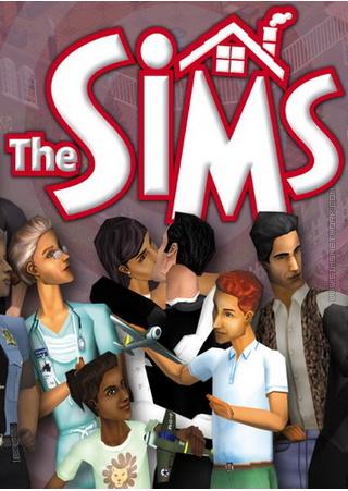 The Sims for Mac box art packshot