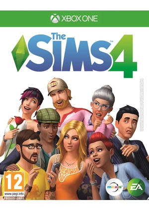 The Sims 4 on Xbox One box art packshot