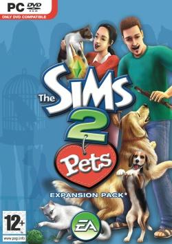 The Sims 2: Pets box art packshot