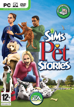 The Sims: Pet Stories box art packshot