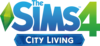 The Sims 4: City Living logo