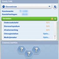 De Sims 4: Honden en Katten kaveltype Dierenkliniek