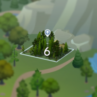 The Sims 4: Granite Falls world neighbourhood #2