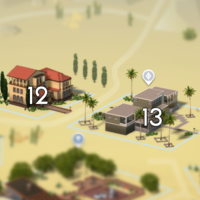 The Sims 4: Oasis Springs world neighbourhood #4