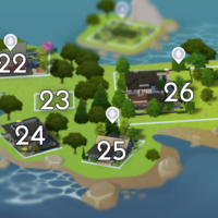 The Sims 4: Windenburg world neighbourhood #6