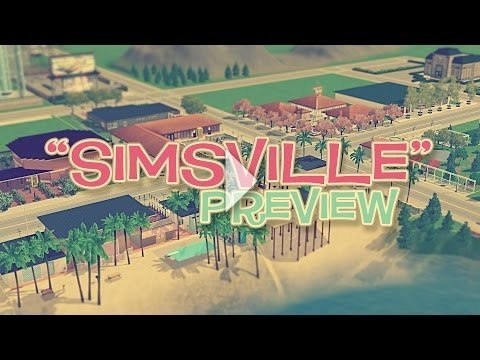 Simsville Preview - SNW's new world!