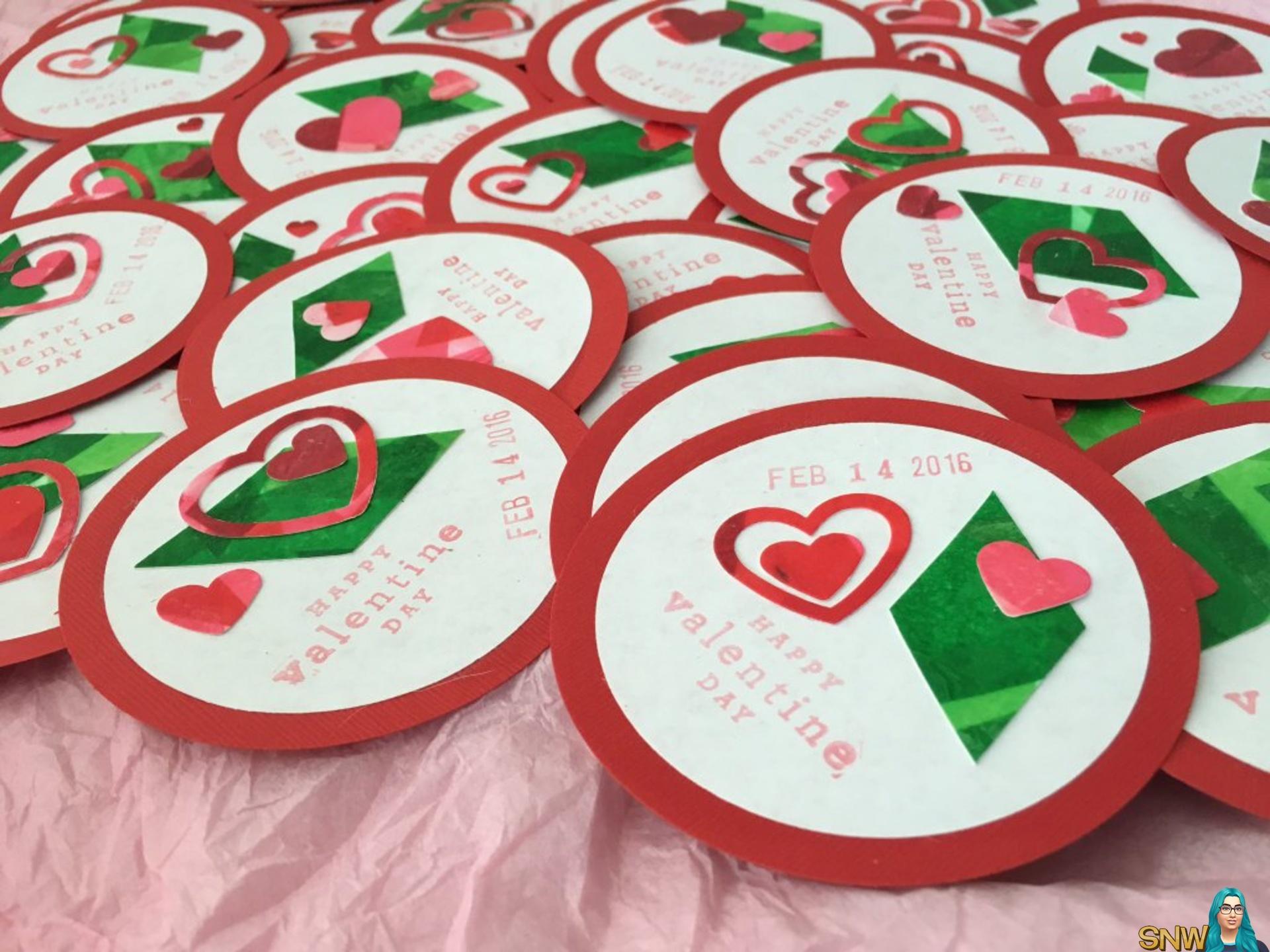 SimGuruRiley's Valentine's Day crafts